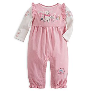 Winnie the Pooh and Piglet Romper and Bodysuit Set for Baby