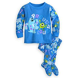 Monsters Inc. Footed PJ PALS for Baby