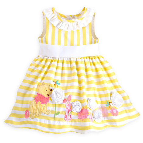 Winnie the Pooh and Piglet Dress for Baby