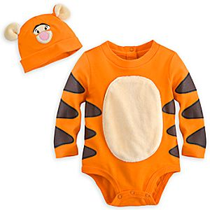 Tigger Bodysuit Costume Set for Baby - Personalizable