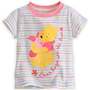 Winnie the Pooh and Piglet Tee for Baby