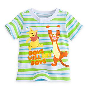Winnie the Pooh and Tigger Tee for Baby
