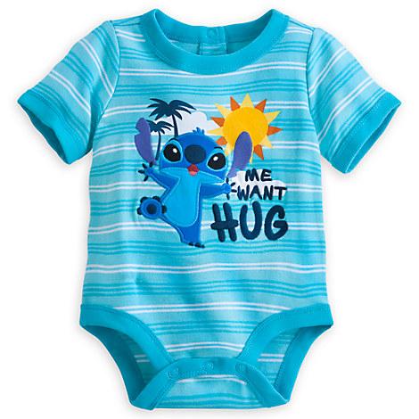 Stitch disney cuddly bodysuit for baby buy one get one 50 off baby disney store