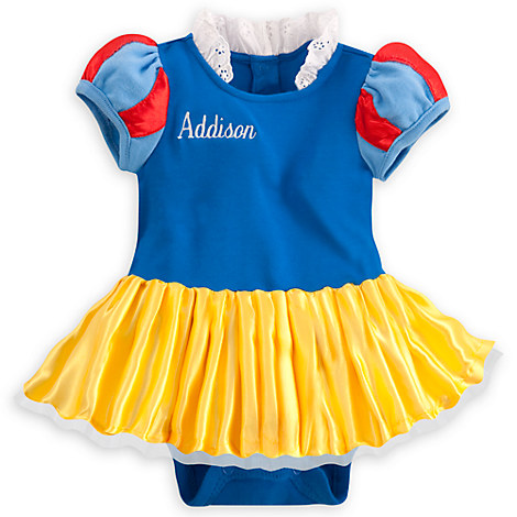 Newborn Snow White Costume Snow White Bodysuit Costume