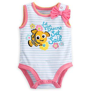 Nemo Disney Cuddly Bodysuit for Baby