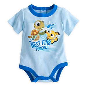Nemo ''Best Fins'' Disney Cuddly Bodysuit for Baby