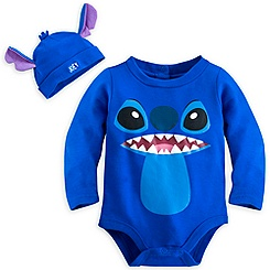 Stitch Bodysuit Costume Set for Baby - Personalizable