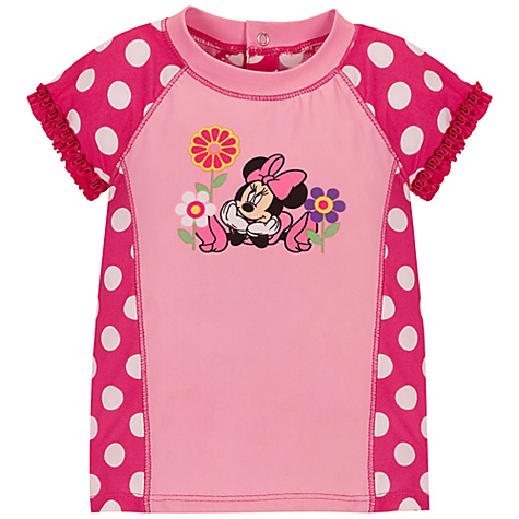 ชื่อสินค้า : minnie mouse rashguard swimsuit for