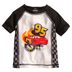 Lightning McQueen Rash Guard for Baby