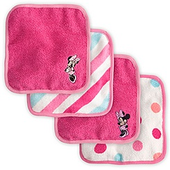 Minnie Mouse Washcloth Set for Baby