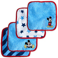 Mickey Mouse Washcloth Set for Baby