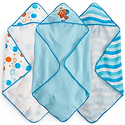 Finding Nemo Hooded Towel Set for Baby - Personalizable
