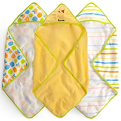 Winnie the Pooh Hooded Towel Set for Baby - Personalizable