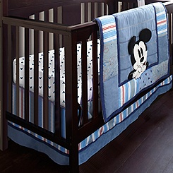 Mickey Mouse Crib Bedding Set