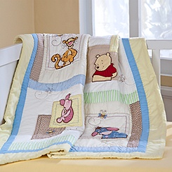 Winnie the Pooh Quilt for Baby - Heirloom - Personalizable