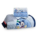 Mickey Mouse Crib Bedding Set for Baby - Personalizable