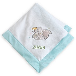 Dumbo Plush Blanket for Baby - Personalizable