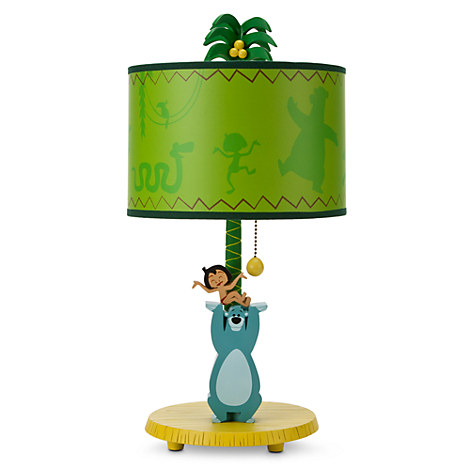 the jungle book lamp bed bath disney store. Black Bedroom Furniture Sets. Home Design Ideas