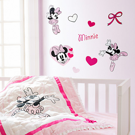 Minnie Mouse Nursery Wall Decals Home Accents Lighting