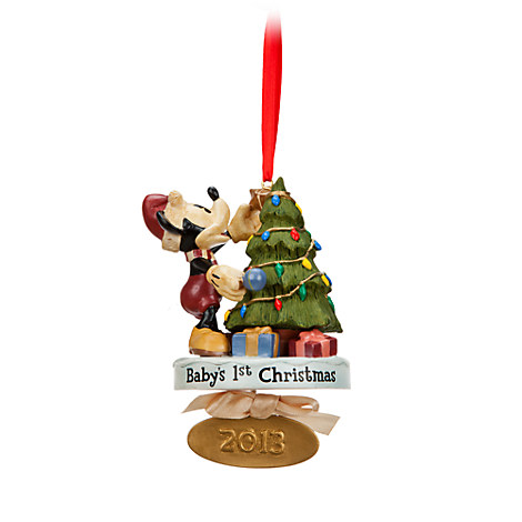 Disney's First Christmas Ornament