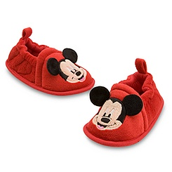 Mickey Mouse Booties for Baby