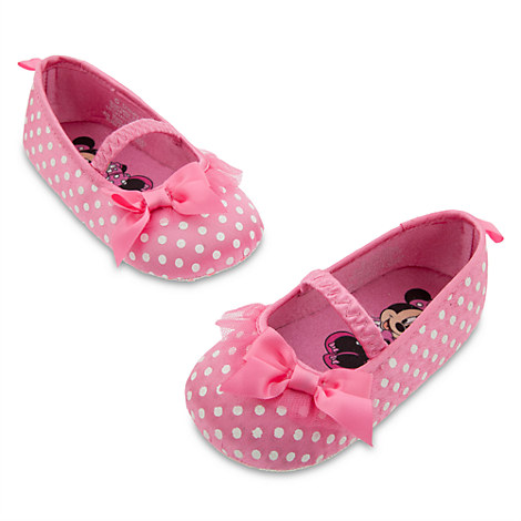 minnie mouse costume shoes for baby pink