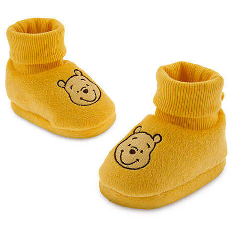 Winnie The Pooh Gold Slippers Soft Shoes Infant Costume