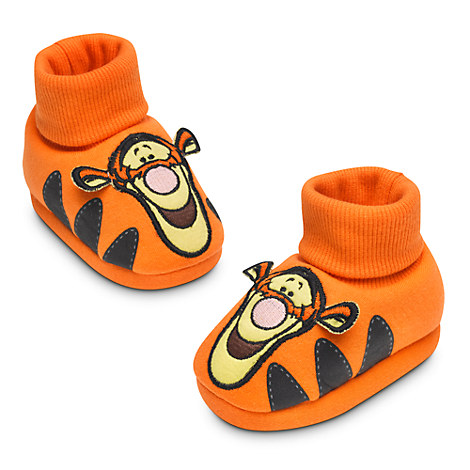 Tigger plush baby slippers costume infant winnie the pooh 0 24m disney