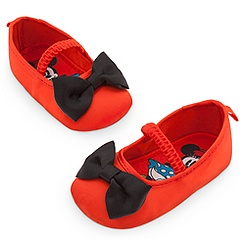 Minnie Mouse Red Costume Shoes for Baby