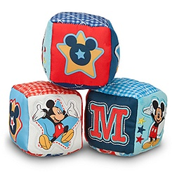 Mickey Mouse Soft Blocks for Baby