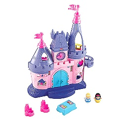 Disney Princess Songs Palace Little People Play Set by Fisher-Price
