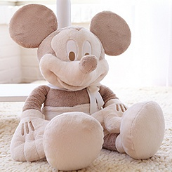 Mickey Mouse Plush for Baby - Large Heirloom 28''