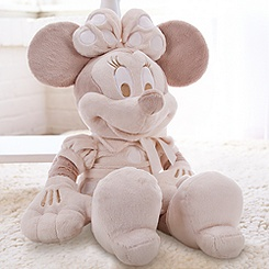Minnie Mouse Plush for Baby - Large Heirloom 28''