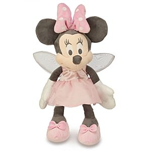 Fairy Minnie Mouse Plush for Baby - Small - 13''