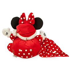 Santa Minnie Mouse My First Christmas Plush for Baby - Personalizable