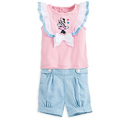 Minnie Mouse Knit Top and Shorts Set for Baby