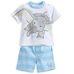 Dumbo Tee and Short Set for Baby
