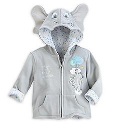Dumbo Zip Hoodie for Baby