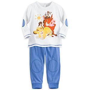 Simba Top and Pants Set for Baby