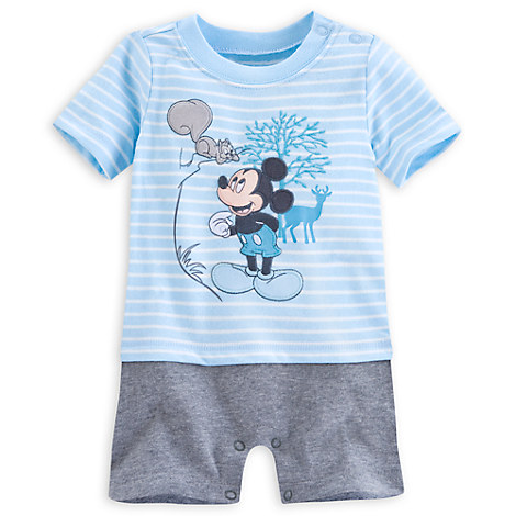 Mickey Mouse Romper for Baby Rompers