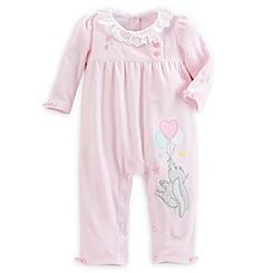 Dumbo Velour Romper for Baby - Pink