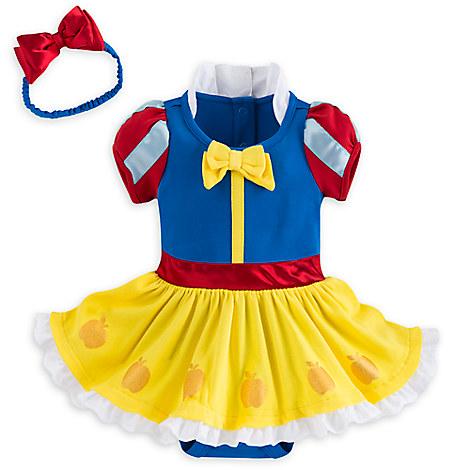 Snow White Bodysuit Costume Set for Baby
