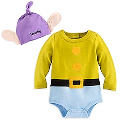 Dopey Bodysuit Costume Set for Baby - Personalizable