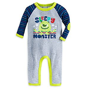Mike Wazowski Stretchie Sleeper for Baby
