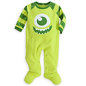 Mike Wazowski Blanket Sleeper for Baby
