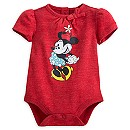 Minnie Mouse Vintage Disney Cuddly Bodysuit for Baby