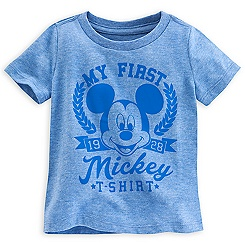 Mickey Mouse ''My First Mickey T-Shirt'' Tee for Baby