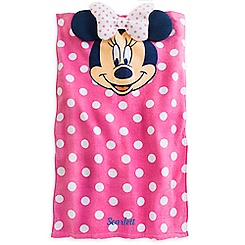 Minnie Mouse Beach Towel for Baby - Personalizable