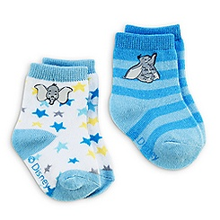 Dumbo Socks for Baby - 2-Pack - Blue