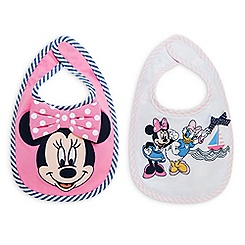 Minnie Mouse and Daisy Duck Bib Set for Baby - 2-Pack